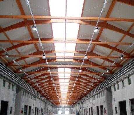 Marco Arena Design - Copertura Mercato Ortofrutticolo