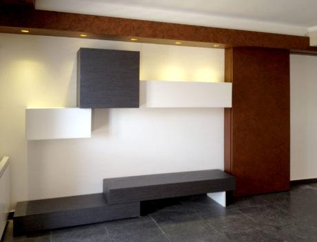 Marco Arena Design - Parete attrezzata KUBO