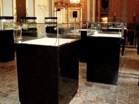 Marco Arena Design - realizzazione teche Palazzo Biscari